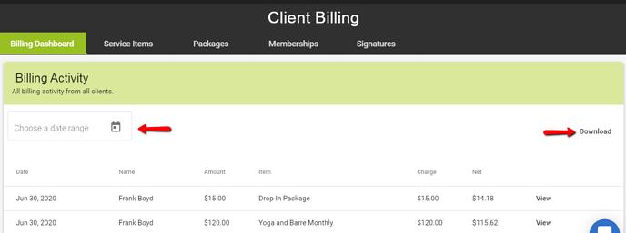 Billing_Activity